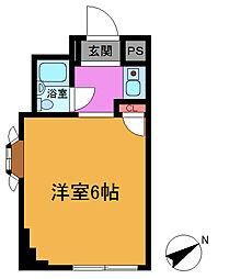 SRコーポ[2階]の間取り