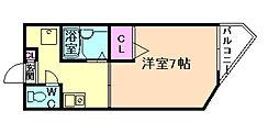 ヌーベル福島[2階]の間取り