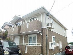 愛知県岡崎市美合町字池下の賃貸アパートの外観