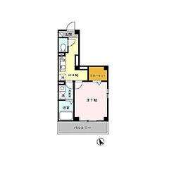D-room アーバングレース[3階]の間取り