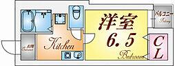 ハウス梅ケ香[2階]の間取り