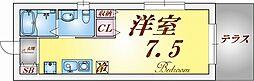 ワコーレ須磨衣掛[1階]の間取り