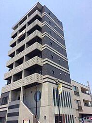 愛知県岡崎市羽根町字東荒子の賃貸マンションの外観