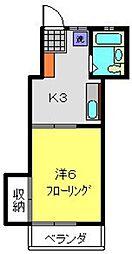 メゾンサイトウ[2階]の間取り