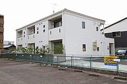 愛知県江南市古知野町杉山の賃貸アパートの外観