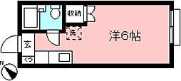 メゾネット・ラフィーネ[1階]の間取り
