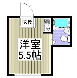 埼玉県川越市大字小堤の賃貸マンションの間取り