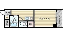ロイヤルメゾン淡路[1階]の間取り