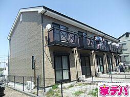 愛知県豊田市竹元町前田下の賃貸アパートの外観