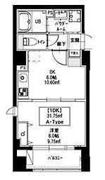 新宿御苑荘[1階]の間取り