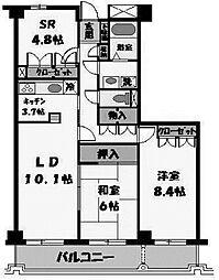 セントラルハイムKATO[3階]の間取り