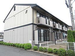 岡山県倉敷市中畝8の賃貸アパートの外観