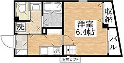 DO Kitatanabe[4階]の間取り
