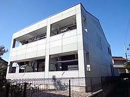 愛知県みよし市三好町八和田の賃貸アパートの外観
