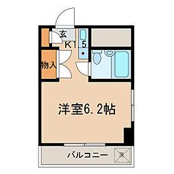 神奈川県横浜市保土ケ谷区桜ケ丘2丁目の賃貸マンションの間取り