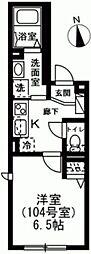 仮称)杉並区下高井戸1丁目レジデンス 1階1Kの間取り