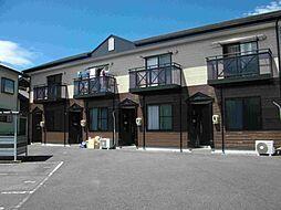 静岡県牧之原市勝間の賃貸アパートの外観