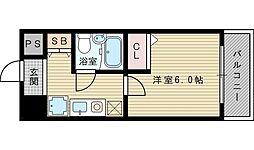 エスリード新大阪第2[8階]の間取り