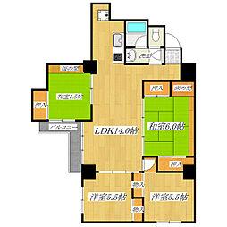東十条マンション[2階]の間取り