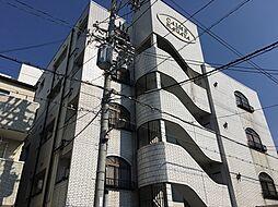 大阪府大阪市住之江区中加賀屋2丁目の賃貸マンションの外観