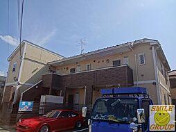 千葉県船橋市上山町3丁目の賃貸アパートの外観