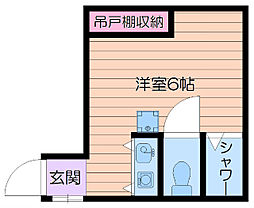 大阪府吹田市千里山西4丁目の賃貸マンションの間取り