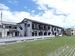 滋賀県高島市安曇川町田中の賃貸アパートの外観