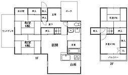 [一戸建] 福岡県糸島市二丈田中 の賃貸【/】の間取り