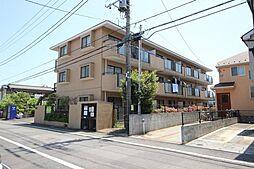 東京都羽村市富士見平1の賃貸マンションの外観