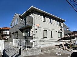 千葉県市原市東国分寺台3丁目の賃貸アパートの外観