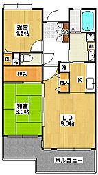 emラフォーレ実籾[3階]の間取り