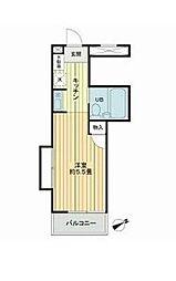 スカイコートたまプラーザ[3階]の間取り