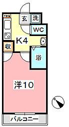 ヴェルニパレ[2階]の間取り