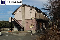 愛知県豊橋市大崎町字平嶋の賃貸アパートの外観