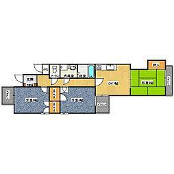 第五泰仙ビル[3階]の間取り