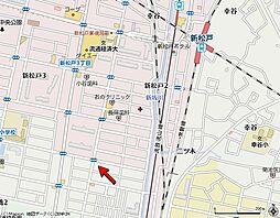 千葉県松戸市新松戸南1丁目の賃貸アパートの外観