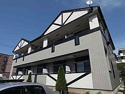 千葉県松戸市東平賀の賃貸アパートの外観