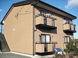 静岡県周智郡森町中川の賃貸アパートの外観
