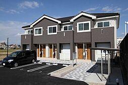 愛知県小牧市大字二重堀の賃貸アパートの外観