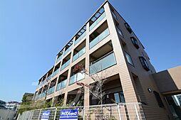 大阪府箕面市外院3丁目の賃貸マンションの外観