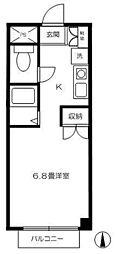 ローザ恋ヶ窪[2階]の間取り