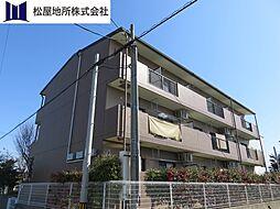 愛知県豊橋市清須町字宮西の賃貸マンションの外観