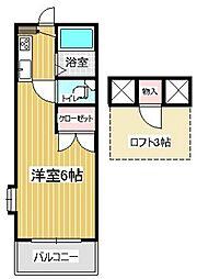 サンシャイン21A[105号室]の間取り