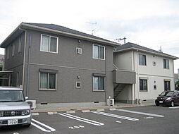岡山県倉敷市笹沖の賃貸アパートの外観