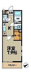 リブリ・ハナミズキ大船[201号室]の間取り
