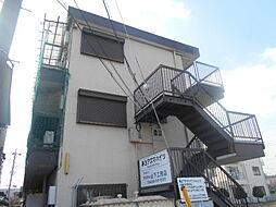 埼玉県草加市弁天2の賃貸マンションの外観