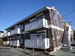 埼玉県草加市青柳8丁目の賃貸アパートの外観