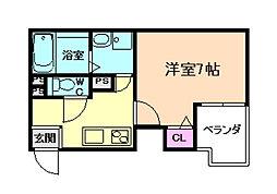 C&Aレジデンス[3階]の間取り