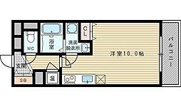グレンパーク新大阪2[15階]の間取り