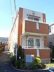 埼玉県三郷市彦成2丁目の賃貸アパートの外観